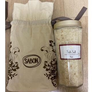 SABON - サボン バスソルト ローズ SABON 新品未使用