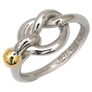 ティファニー(Tiffany & Co.)のティファニー 指輪 ラブノット リング シルバー(リング(指輪))