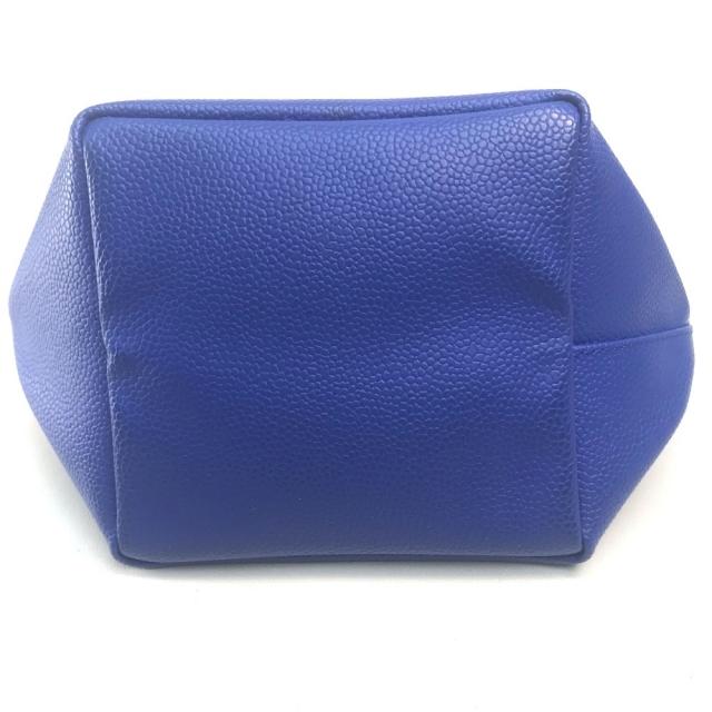 Herve Chapelier(エルベシャプリエ)のエルベ・シャプリエ バイカラー 舟型 ミニ バッグ ハンドバッグ ブルー×ピンク レディースのバッグ(ハンドバッグ)の商品写真