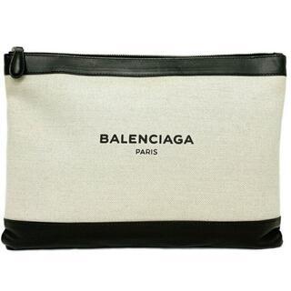 バレンシアガ(Balenciaga)のバレンシアガ クラッチバッグ ネイビー クリップM(クラッチバッグ)