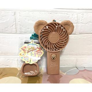 ダッフィー(ダッフィー)のディズニー♥ダッフィー&フレンズ🧸サニーファン ハンディーファン ミニ扇風機♥(扇風機)
