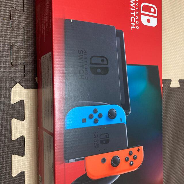 Nintendo Switch(ニンテンドースイッチ)のNintendo Switch 任天堂スイッチ 本体【新品】 エンタメ/ホビーのゲームソフト/ゲーム機本体(家庭用ゲーム機本体)の商品写真