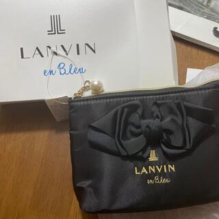 ランバンオンブルー(LANVIN en Bleu)のポーチ(ポーチ)