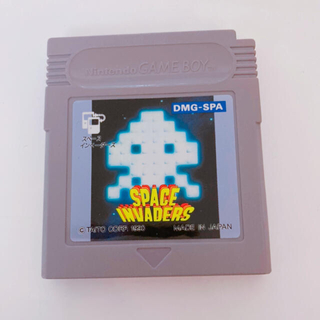 SPACE INVADERS ゲームボーイ ソフト