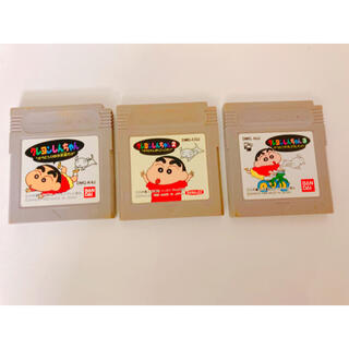 バンダイ(BANDAI)のクレヨンしんちゃん ゲームボーイ ソフト(携帯用ゲームソフト)