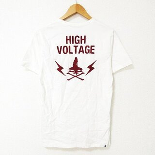 HYSTERIC GLAMOUR - HYSTERIC GLAMOUR Tシャツ カットソー 半袖 プリント 刺繍 M