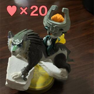 Nintendo Switch - アミーボ ウルフリンク ゼルダの伝説 ハート20 amiibo