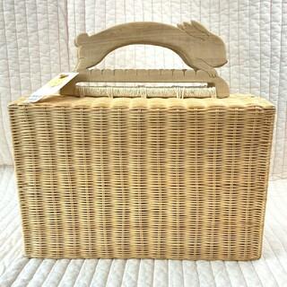 franche lippee - タグ付き新品未使用 ◆ フランシュリッペ うさぎのしかくBAG かごバッグ