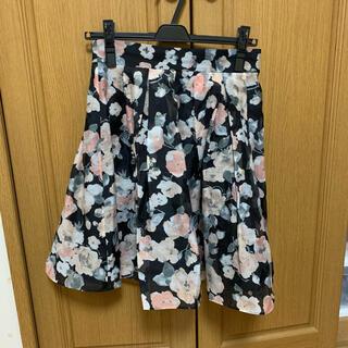 トランテアンソンドゥモード(31 Sons de mode)の31 Sons de mode 花柄スカート(ひざ丈スカート)