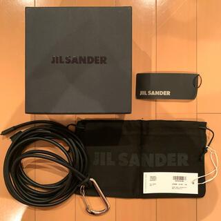 ジルサンダー(Jil Sander)のJIL SANDER ジルサンダー 19SSフックベルト ロープベルト 黒 新品(ベルト)