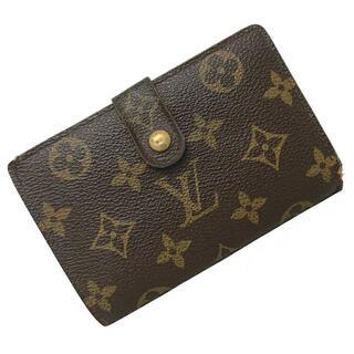ルイヴィトン(LOUIS VUITTON)のルイヴィトン 二つ折り がま口 財布 ポルトフォイユ(財布)
