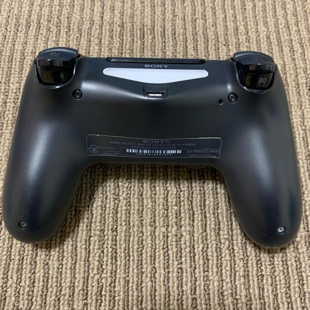 PlayStation4(プレイステーション4)のPS4 本体 CUH-1200A 500GB + ソフト2本 エンタメ/ホビーのゲームソフト/ゲーム機本体(家庭用ゲーム機本体)の商品写真