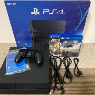 PlayStation4 - PS4 本体 CUH-1200A 500GB + ソフト2本