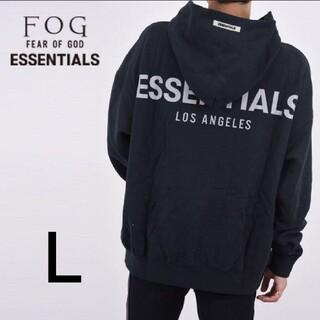 【新品】FOG Essentials LA 限定 パーカー ブラック