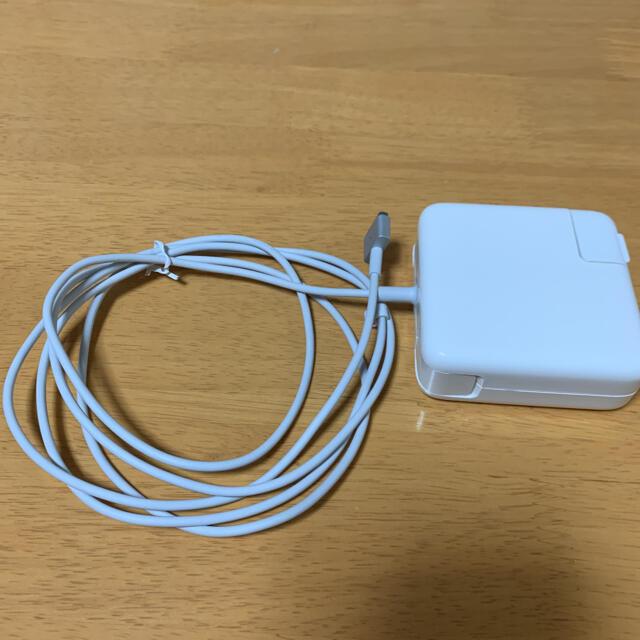 Mac (Apple)(マック)のMacBook AC アダプター スマホ/家電/カメラのPC/タブレット(PC周辺機器)の商品写真