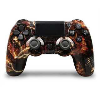 PS4 ワイヤレスコントローラー レアカラー カモフラージュ2 ガラコン