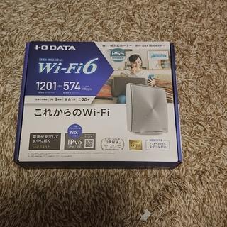 アイオーデータ(IODATA)の(未使用開封済み)アイ オー データ wifi6対応 ホームルーター(PC周辺機器)