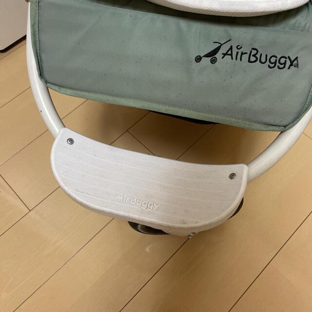 AIRBUGGY(エアバギー)のエアバギーココ ブレーキ ノマドグリーン カーキ キッズ/ベビー/マタニティの外出/移動用品(ベビーカー/バギー)の商品写真