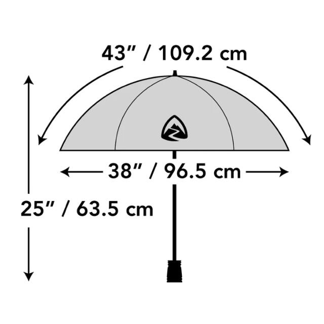 Zpacks Lotus UL Umbrellaとホルスターセット スポーツ/アウトドアのアウトドア(登山用品)の商品写真