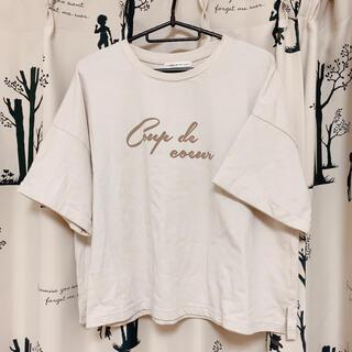 ナイスクラップ(NICE CLAUP)のナイスクラップ continuerdeNICECLAUP Tシャツ レディース(Tシャツ(半袖/袖なし))