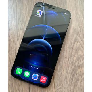 アイフォーン(iPhone)のiPhone 12 pro パシフィックブルー 256 GB SIMフリー(スマートフォン本体)
