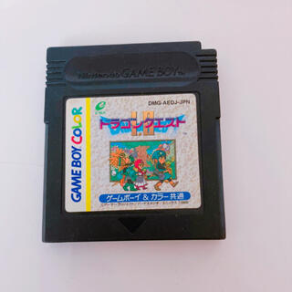 ゲームボーイ(ゲームボーイ)のドラゴンクエスト GB GBCソフト(携帯用ゲームソフト)