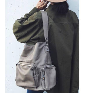 moussy - anruly rular amil Many ZIP BAG バッグ