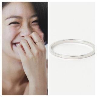ビームス(BEAMS)の榮倉奈々さん着用 sale BEAMS 新品未使用 シンプルリング(リング(指輪))