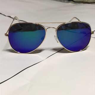 ボストンサングラス メガネ 眼鏡 サングラス 海 青