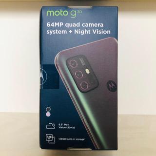 【新品 未開封】Motorola moto g30 4GB/128GB