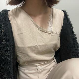 ムルーア(MURUA)のワンショルダートップス(カットソー(半袖/袖なし))