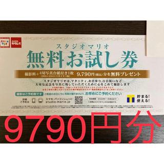 Kitamura - 【スタジオマリオ】無料お試し券