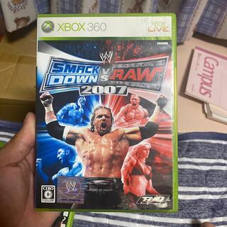 エックスボックス360(Xbox360)のWWE 2007 SmackDown!vs Raw XB360(家庭用ゲームソフト)