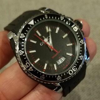 メンズ腕時計 クォーツです。試着程度の美品です。コレクション放出中!