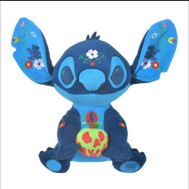 Disney(ディズニー)の白雪姫 スティッチ ぬいぐるみ キッズ/ベビー/マタニティのおもちゃ(ぬいぐるみ/人形)の商品写真