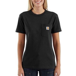 カーハート(carhartt)のカーハート WK87  黒 S レディース ポケット Tシャツ ●新品●セール!(Tシャツ(半袖/袖なし))