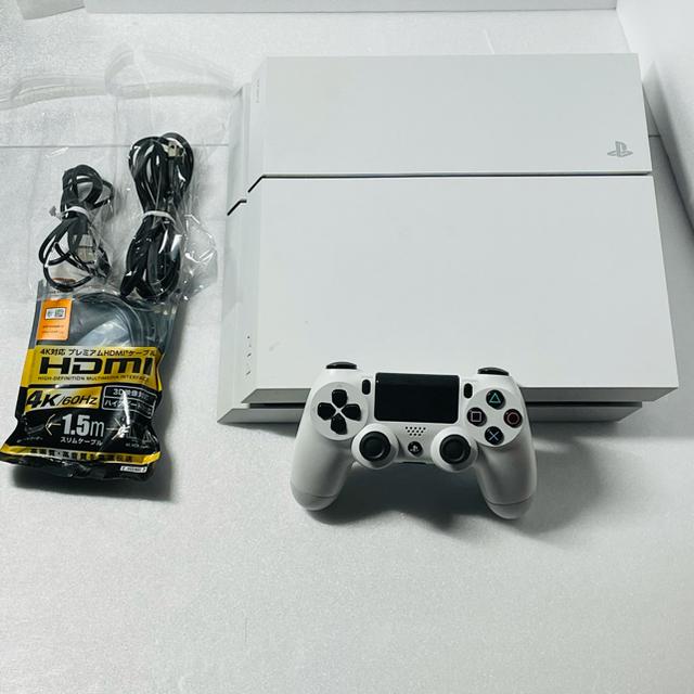 PlayStation4(プレイステーション4)のSONY PlayStation4 CUH-1200AB02 エンタメ/ホビーのゲームソフト/ゲーム機本体(家庭用ゲーム機本体)の商品写真