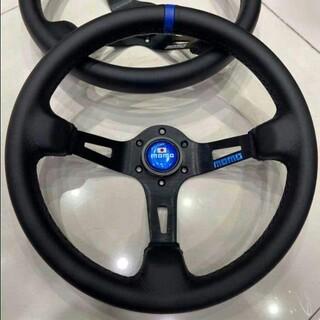 ダイハツ(ダイハツ)の極品 + 自動車ハンドル ハンドルステアリング 14インチ 35cm(車内アクセサリ)