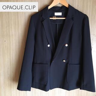 OPAQUE.CLIP - OPAQUE.CLIP  ジャケット 紺ブレ ネイビー 紺色 オペークドットクリ