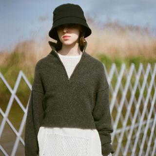 TODAYFUL - ★新品未使用★TODAYFUL Wool Zip Knit チャコールグレー