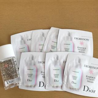 ディオール(Dior)のディオールスノーアルティメットエッセンスオブライトとローション(化粧水/ローション)