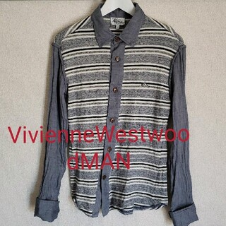 Vivienne Westwood - VivienneWestwoodMAN長袖シャツsize46