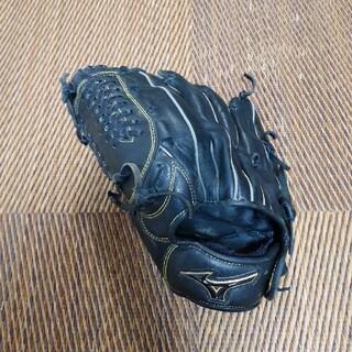 ミズノ(MIZUNO)のミズノ 野球グローブ 左用 ブラック(グローブ)
