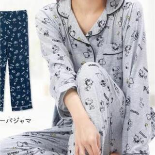 スヌーピー(SNOOPY)の新作スヌーピー巾着入り長袖パジャマMサイズ(パジャマ)
