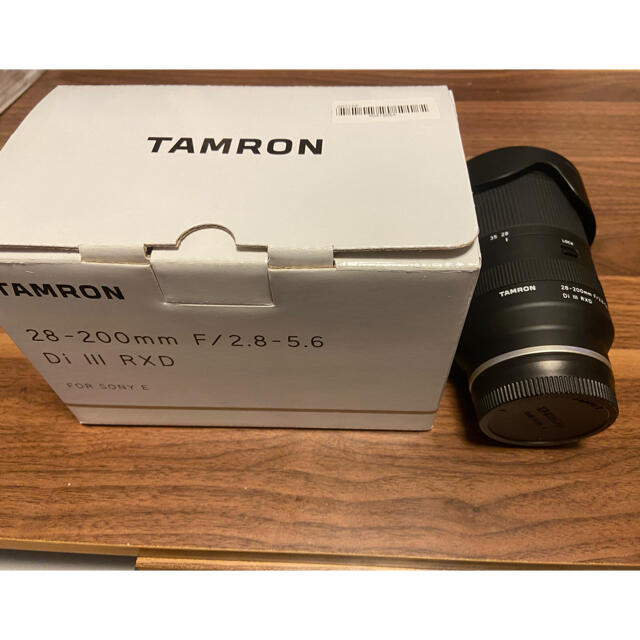 TAMRON(タムロン)のタムロン 28-200 F2.8-5.6 Eマウント スマホ/家電/カメラのカメラ(レンズ(ズーム))の商品写真