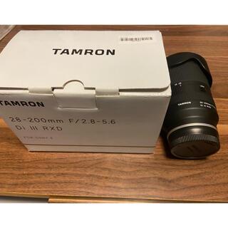 TAMRON - タムロン 28-200 F2.8-5.6 Eマウント