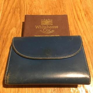 ホワイトハウスコックス(WHITEHOUSE COX)の財布 WhitehouseCox(折り財布)