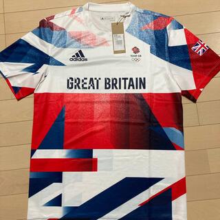 adidas - 【新品Mサイズ】Tシャツ#TEAM GB#アディダス#イギリスオリンピック