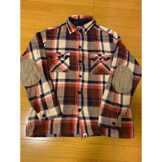 A BATHING APE - ABATHINGAPE  チェックシャツ XXL ④