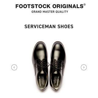 ヨウジヤマモト(Yohji Yamamoto)のFOOTSTOCK ORIGINALS  プレーントゥ US8 26.5cm(ドレス/ビジネス)